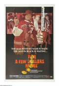 """Movie Posters:Western, For a Few Dollars More (United Artists, 1967). One Sheet (27"""" X 41""""). """"Where life had no value, death, sometimes, had its pr..."""