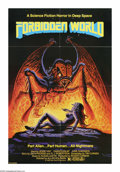 "Movie Posters:Science Fiction, Forbidden World (New World Pictures, 1982). One Sheet (27"" X 41""). Sex and horror in outer space! When a group of scientists..."