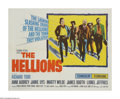 "Movie Posters:Drama, The Hellions (Columbia, 1962). Half Sheet (22"" X 28""). Richard Todd stars in this South African version of ""High Noon"". A ga..."