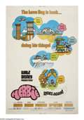 """Movie Posters:Comedy, Herbie Rides Again (Buena Vista, 1974). Poster (40"""" X 60""""). Developer Alonzo Hawk (Keenan Wynn, playing the same character t..."""