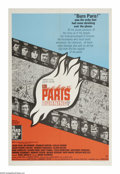 "Movie Posters:War, Is Paris Burning? (Paramount, 1966). One Sheet (27"" X 41""). As theAllies moved closer to retaking Paris during WWII, Hitler..."