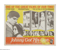 """Movie Posters:War, Johnny Got His Gun (Cinemation Industries, 1971). Half Sheet (22"""" X28""""). A wounded World War I soldier who has lost all his..."""
