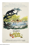 "Movie Posters:Animated, The Jungle Book (Buena Vista, R-1978). Poster (40"" X 60""). Rudyard Kipling's classic story is given the Disney touch in this..."