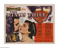 "Movie Posters:Adventure, The King's Thief (MGM, 1955). Half Sheet (22"" X 28""). Edmund Purdomis the titular bandit who is out to recover the crown je..."