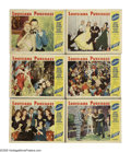 """Movie Posters:Musical, Louisiana Purchase (Paramount, 1941). Lobby Cards (6) (11"""" X 14""""). Bob Hope stars in this musical comedy featuring the music... (Total: 6 Items)"""