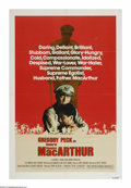 "Movie Posters:War, MacArthur (Universal, 1977). One Sheet (27"" X 41""). Gregory Peckplays General Douglas MacArthur, the head of American force..."