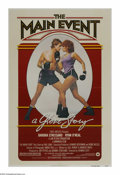 "Movie Posters:Sports, The Main Event (Warner Brothers, 1979). One Sheet (27"" X 41""). Barbra Streisand is a perfume company owner who suddenly goes..."
