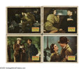 """Movie Posters:Thriller, Man Hunt (20th Century Fox, 1941). Lobby Cards (4) (11"""" X 14""""). From acclaimed director Fritz Lang, this 1940s thriller foll... (Total: 4 Items)"""