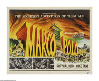 """Marco Polo (AIP, 1962). Half Sheet (22"""" X 28""""). A purely fictional story of Marco Polo, featuring the Italian..."""