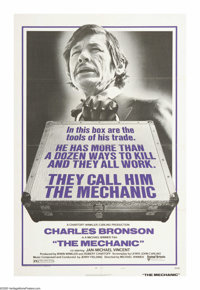 "The Mechanic (United Artists, 1972). One Sheet (27"" X 41""). As an aging hitman prepares to retire, a young man..."