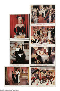 "The Merry Widow (MGM, 1952). Deluxe Lobby Cards (7) (11"" X 14""). From the operetta by Lehar, this remake of th..."