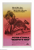"""Movie Posters:War, Murphy's War (Paramount, 1971). One Sheet (27"""" X 41""""). It's theclosing days of WWII. Peter O'Toole is the lone survivor of ..."""
