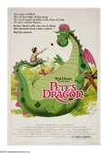 "Movie Posters:Animated, Pete's Dragon (Buena Vista, R-1984). Poster (40"" X 60""). Pete (Sean Marshall) is an orphan who has a best friend -- a dragon..."