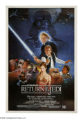 "Movie Posters:Science Fiction, Return of the Jedi (20th Century Fox, 1983). Poster (40"" X 60"")Style B. ""I've got a bad feeling about this."" In this final ..."