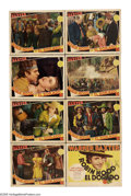 "Movie Posters:Western, Robin Hood of El Dorado (MGM, 1936). Lobby Card Set of 8 (11"" X 14""). After Mexico cedes California to the U.S. in the 1840s... (Total: 8 Items)"