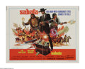 """Movie Posters:Western, Sabata (United Artists, 1970). Half Sheet (22"""" X 28""""). Sabata (Lee Van Cleef) prevents a plot to steal gold from the U.S. Ar..."""