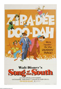 "Movie Posters:Animated, Song of the South (Buena Vista, R-1980). One Sheet (27"" X 41"").Based upon the writings of Joel Chandler Harris, this Disney..."