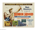 "Movie Posters:Adventure, The Story of Robin Hood (RKO, 1952). Half Sheet (22"" X 28"") StyleB. The Earl of Huntington takes up the life of an outlaw a..."