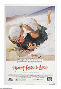 "Young Doctors in Love (20th Century Fox, 1982). One Sheet (27"" X 41""). ""Attention: Starting Monday, all n..."