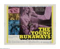 "Movie Posters:Drama, The Young Runaways (MGM, 1968). Half Sheet (22"" X 28""). Three young teens (Brooke Bundy, Kevin Coughlin and Patty McCormack)..."