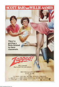"""Zapped! (Embassy Pictures, 1982). One Sheet (27"""" X 41""""). Scott Baio and Willie Ames star in the story of a tee..."""