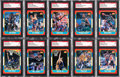 Basketball Cards:Lots, Signed 1986-87 Fleer Basketball Collection (56). ...