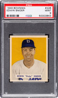 Baseball Cards:Singles (1940-1949), 1949 Bowman Duke Snider #226 PSA Mint 9 - Only One Higher....