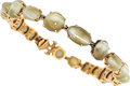 Estate Jewelry:Bracelets, Cat's-Eye Chrysoberyl, Gold Bracelet. ...