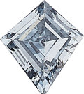 Estate Jewelry:Unmounted Diamonds, Unmounted Fancy Intense Blue Diamond. ...