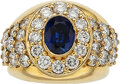 Estate Jewelry:Rings, Sapphire, Diamond, Gold Ring, Moboco. ...