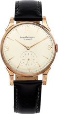 Estate Jewelry:Watches, Girard Perregaux Gentleman's Rose Gold Watch. ...