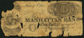 Obsoletes By State:Ohio, Manhattan, OH- Manhattan Bank $1 Jan. 1, 1838. ...