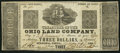 Obsoletes By State:Ohio, Medina, OH- Ohio Land Company $3 May 21, 1838. ...