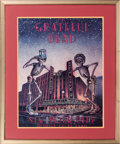 Music Memorabilia:Posters, Grateful Dead New York Radio City Music Hall October 22-31, 1980 Concert Poster (1980)....