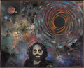 "Music Memorabilia:Original Art, Jerry Garcia - ""Dark Star"" Original Frank Bettencourt Painting (1996)...."