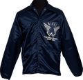 Music Memorabilia:Memorabilia, Wings Caribou/Concerts West Tour Crew/Band Jacket Signed by DennyLaine (Circa 1976)....