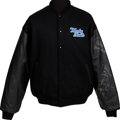 Music Memorabilia:Memorabilia, The Moody Blues Crew Tour Jacket Signed by Members of the Band(Circa Early 2000s)....