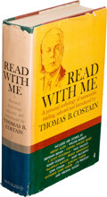 "Music Memorabilia:Autographs and Signed Items, Elvis Presley Gifted Copy Of ""Read With Me"" By Thomas B. CostainWith Inscription From Dr Nick (early 1970s)...."