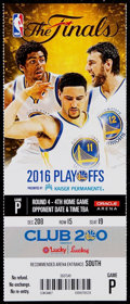 Basketball Collectibles:Others, 2016 NBA Finals Game 7 Full Ticket - Cleveland Cavaliers FirstChampionship!...