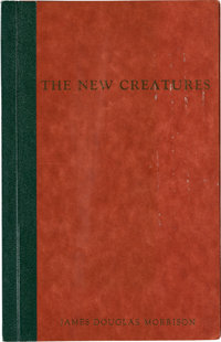 Doors - Jim Morrison First Edition of His Book of Poetry 'The New Creatures,' 1969