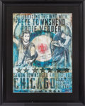 Music Memorabilia:Autographs and Signed Items, The Who - Celebrating The Who With Pete Townshend Eddie Vedder Simon Townshend and Friends Chicago Rosemont Theatre Concert Po...