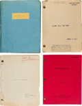 Movie/TV Memorabilia:Documents, A James Cagney Group of 'File Copy' Scripts, 1950s.... (Total: 4 )