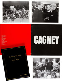 """A Script and Program from the """"AFI Life Achievement Award: A Tribute to James Cagney"""" Television Show"""