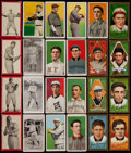 Baseball Cards:Lots, 1909-11 T205, T206, T209 and T210 Baseball Collection (24) Plus Two1950's Red Man Tobacco Cards....