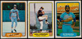 Baseball Cards:Lots, 1982 Fleer Test Card and Variation Collection (23) With Ripken....