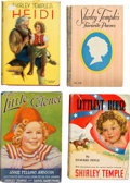 Movie/TV Memorabilia:Memorabilia, A Shirley Temple-Related Group of Books, Circa 1930s....
