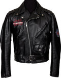 Music Memorabilia:Memorabilia, Jane's Addiction World Tour 1990-1991 Motorcycle Jacket....