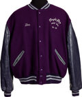 Music Memorabilia:Memorabilia, Prince Purple Rain World Tour '84-'85 Crew Tour Jacket....