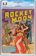 Golden Age (1938-1955):Science Fiction, Rocket to the Moon #nn (Avon, 1951) CGC FN+ 6.5 Off-white to whitepages....