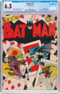 Golden Age (1938-1955):Superhero, Batman #11 (DC, 1942) CGC FN+ 6.5 Off-white to white pages....